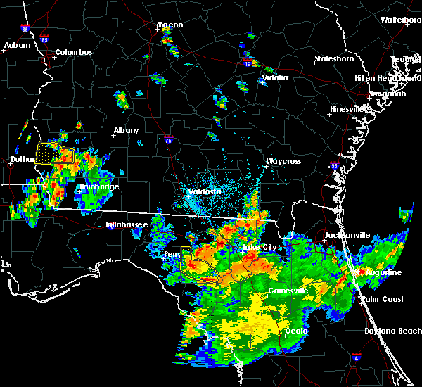 Radar Image for Severe Thunderstorms near Day, FL at 8/14/2016 6:24 PM EDT