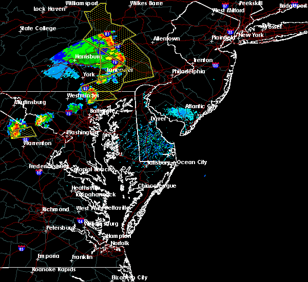 Radar Image for Severe Thunderstorms near Bel Air North, MD at 8/16/2016 4:49 PM EDT