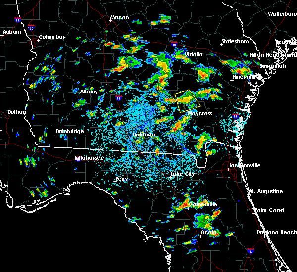 Radar Image for Severe Thunderstorms near Denton, GA at 8/23/2016 2:45 PM EDT