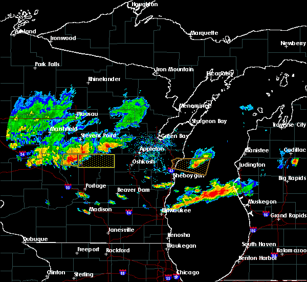 Radar Image for Severe Thunderstorms near Hancock, WI at 9/6/2016 5:41 PM CDT
