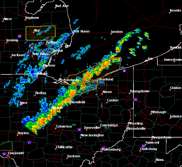 Radar Image for Severe Thunderstorms near Oberlin, OH at 9/10/2016 4:38 PM EDT