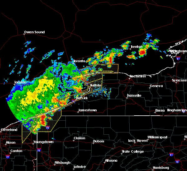 Radar Image for Severe Thunderstorms near Chautauqua, NY at 9/10/2016 6:59 PM EDT