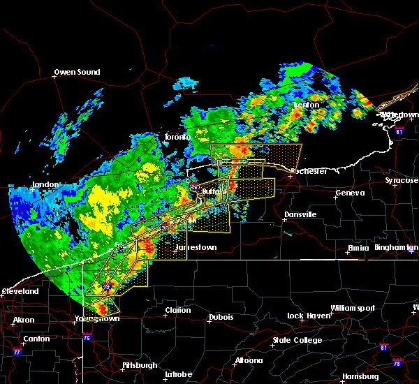 Radar Image for Severe Thunderstorms near Frewsburg, NY at 9/10/2016 7:50 PM EDT