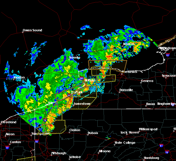Radar Image for Severe Thunderstorms near Fairport, NY at 9/10/2016 8:08 PM EDT