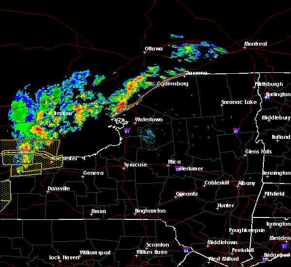 Radar Image for Severe Thunderstorms near Oxbow, NY at 9/10/2016 8:17 PM EDT