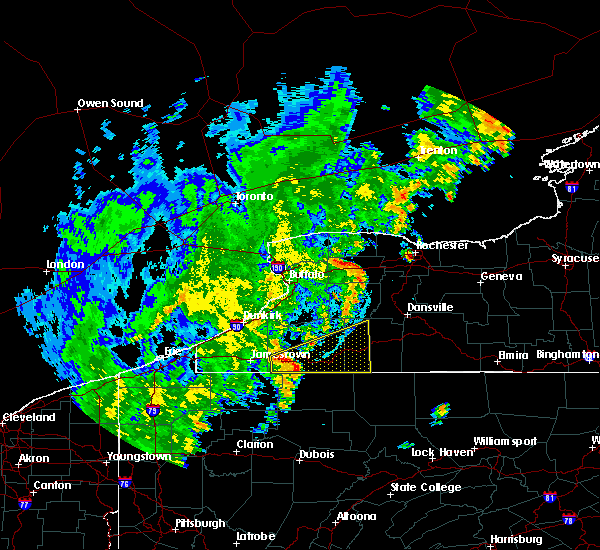 Radar Image for Severe Thunderstorms near Belfast, NY at 9/10/2016 9:24 PM EDT
