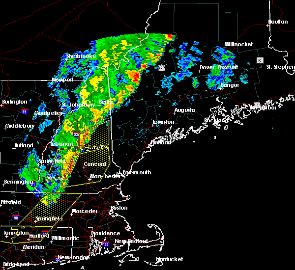 Radar Image for Severe Thunderstorms near Raymond, NH at 9/11/2016 9:09 AM EDT