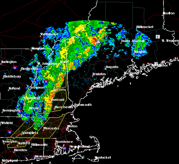 Radar Image for Severe Thunderstorms near Bartlett, NH at 9/11/2016 9:30 AM EDT