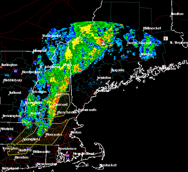 Radar Image for Severe Thunderstorms near Raymond, NH at 9/11/2016 9:34 AM EDT