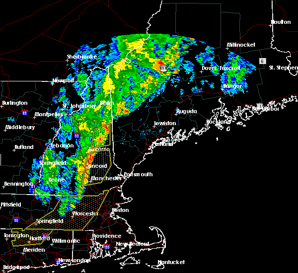 Radar Image for Severe Thunderstorms near Bridgton, ME at 9/11/2016 9:37 AM EDT