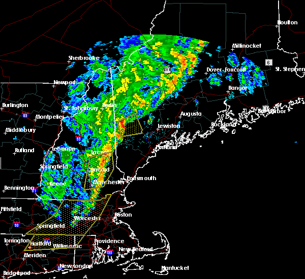 Radar Image for Severe Thunderstorms near Bridgton, ME at 9/11/2016 9:55 AM EDT