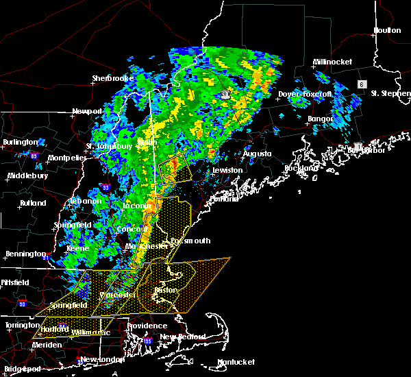 Radar Image for Severe Thunderstorms near Methuen Town, MA at 9/11/2016 10:04 AM EDT