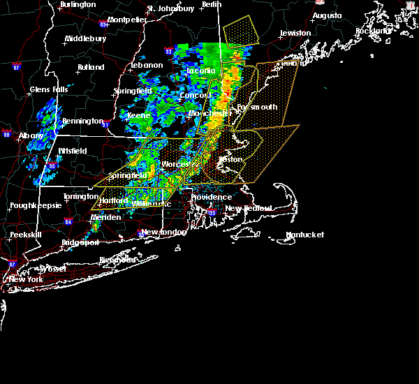 Radar Image for Severe Thunderstorms near Methuen Town, MA at 9/11/2016 10:19 AM EDT