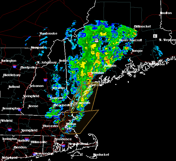 Radar Image for Severe Thunderstorms near South Eliot, ME at 9/11/2016 10:58 AM EDT