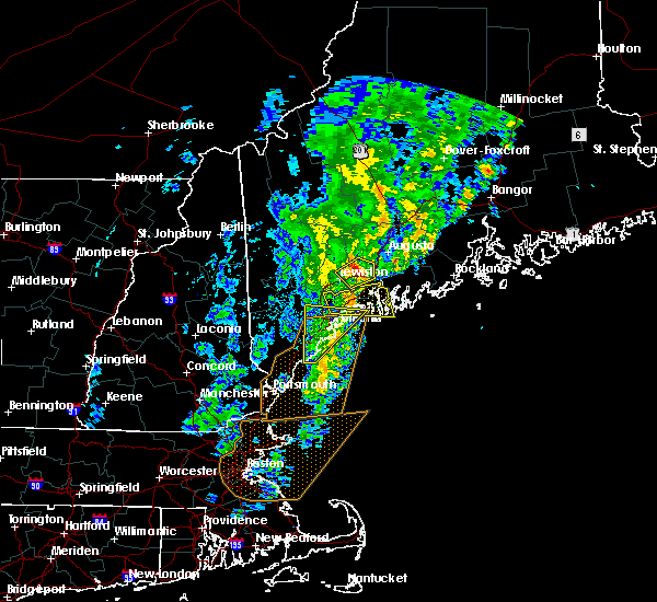 Radar Image for Severe Thunderstorms near Winthrop, ME at 9/11/2016 11:10 AM EDT
