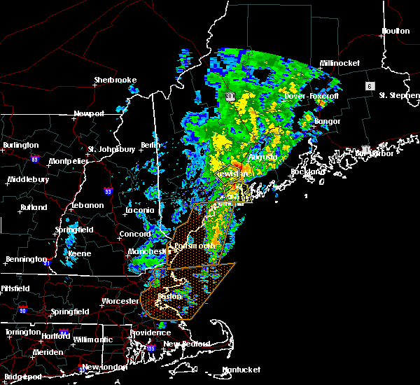 Radar Image for Severe Thunderstorms near Bath, ME at 9/11/2016 11:20 AM EDT