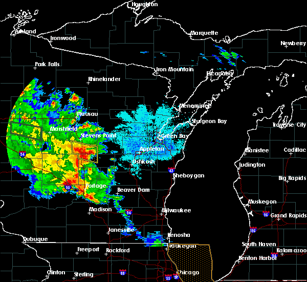 Radar Image for Severe Thunderstorms near Hancock, WI at 9/21/2016 2:59 PM CDT