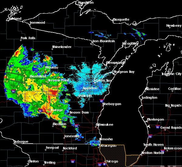 Radar Image for Severe Thunderstorms near Hancock, WI at 9/21/2016 3:11 PM CDT