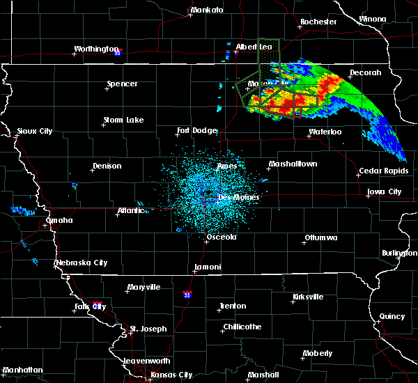 Radar Image for Severe Thunderstorms near Plainfield, IA at 9/21/2016 8:23 PM CDT