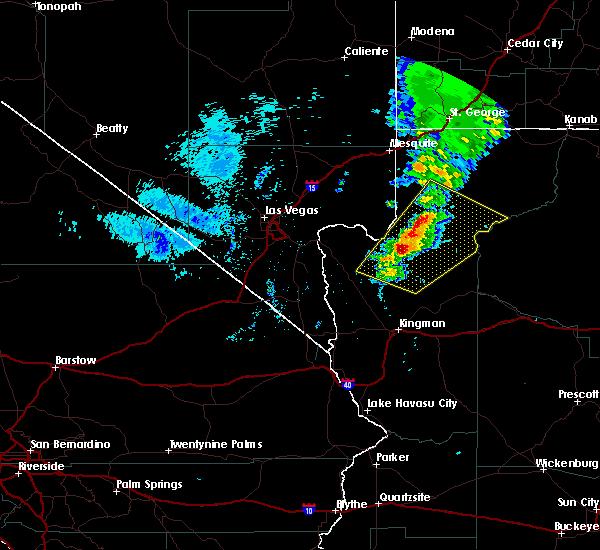 Radar Image for Severe Thunderstorms near Dolan Springs, AZ at 9/22/2016 4:48 PM MST