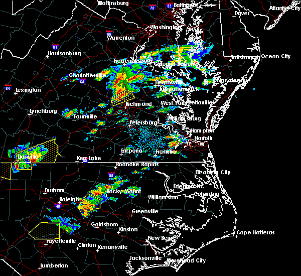 Radar Image for Severe Thunderstorms near Short Pump, VA at 9/28/2016 3:54 PM EDT