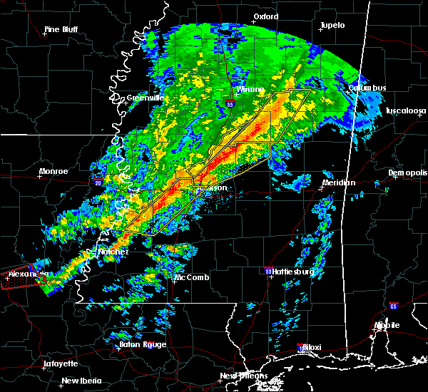 Radar Image for Severe Thunderstorms near Sallis, MS at 11/28/2016 4:08 PM CST