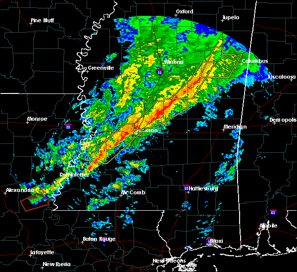 Radar Image for Severe Thunderstorms near Pearl River, MS at 11/28/2016 4:32 PM CST