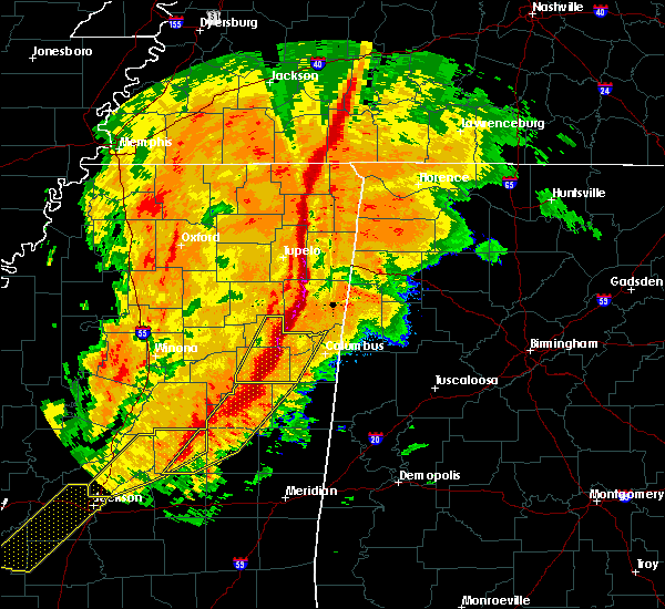 Radar Image for Severe Thunderstorms near Crawford, MS at 11/28/2016 4:41 PM CST