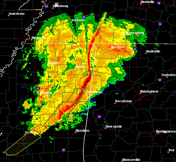 Radar Image for Severe Thunderstorms near Crawford, MS at 11/28/2016 5:02 PM CST