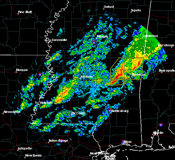 Radar Image for Severe Thunderstorms near Montrose, MS at 11/28/2016 6:18 PM CST