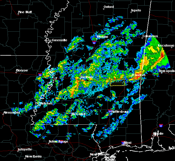 Radar Image for Severe Thunderstorms near Lauderdale, MS at 11/28/2016 7:02 PM CST