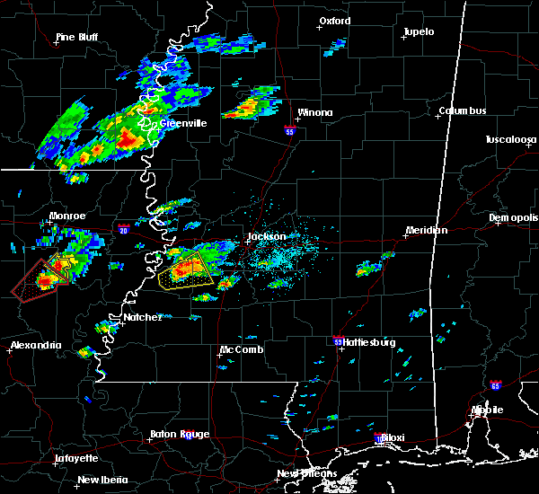 Radar Image for Severe Thunderstorms near Utica, MS at 11/29/2016 2:26 PM CST