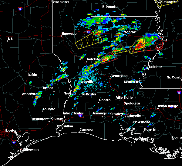 Radar Image for Severe Thunderstorms near Banks Springs, LA at 11/29/2016 3:09 PM CST