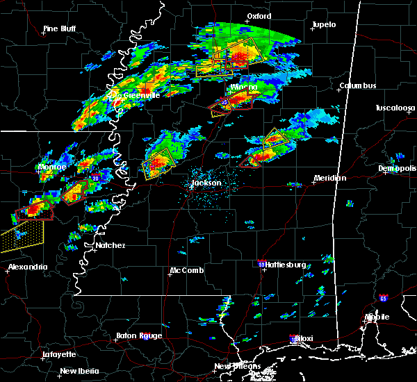Radar Image for Severe Thunderstorms near Pearl River, MS at 11/29/2016 4:44 PM CST
