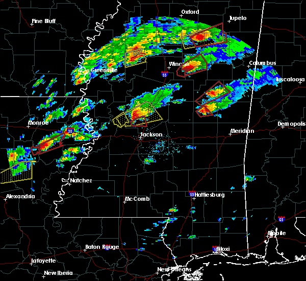 Radar Image for Severe Thunderstorms near Pearl River, MS at 11/29/2016 5:15 PM CST