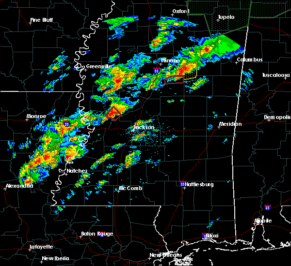 Radar Image for Severe Thunderstorms near Tchula, MS at 11/29/2016 10:02 PM CST