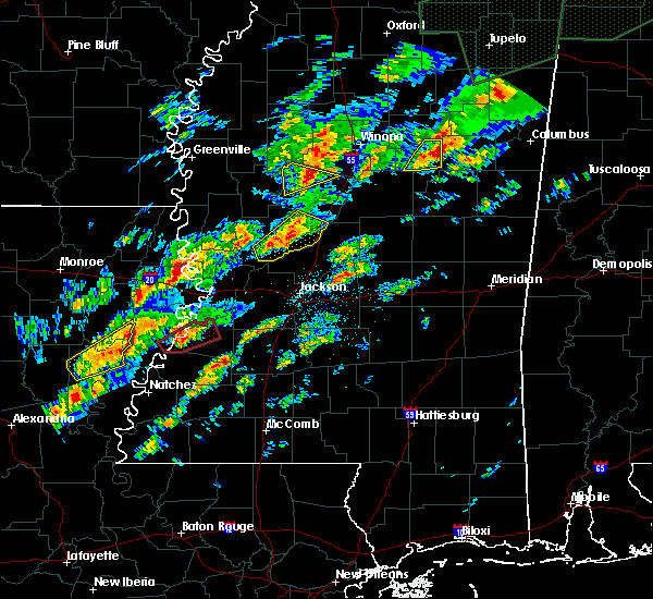 Radar Image for Severe Thunderstorms near Tchula, MS at 11/29/2016 10:26 PM CST