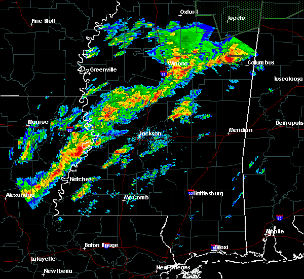 Radar Image for Severe Thunderstorms near Pearl River, MS at 11/29/2016 11:00 PM CST