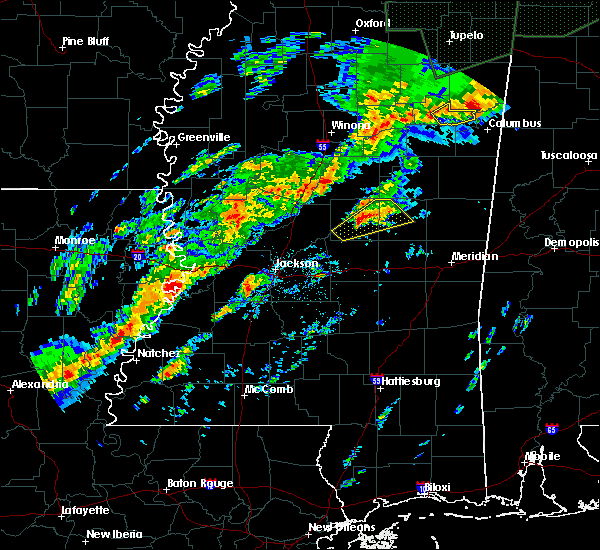 Radar Image for Severe Thunderstorms near Pearl River, MS at 11/29/2016 11:12 PM CST