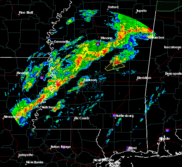 Radar Image for Severe Thunderstorms near Pearl River, MS at 11/29/2016 11:27 PM CST