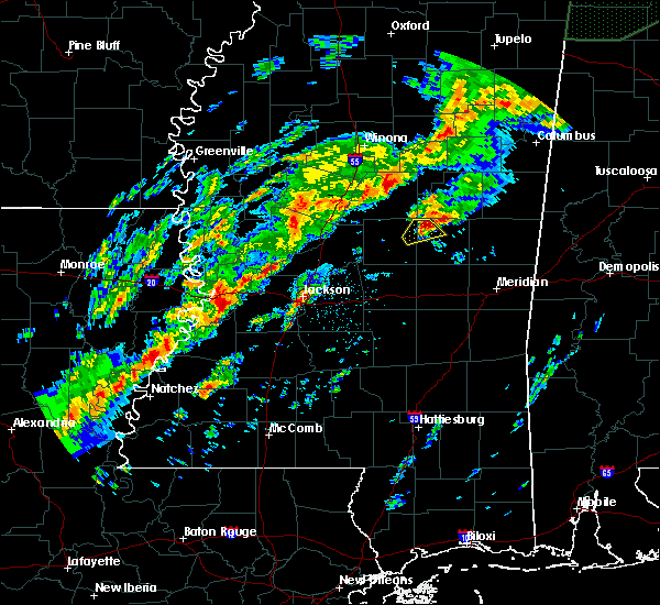 Radar Image for Severe Thunderstorms near Pearl River, MS at 11/29/2016 11:37 PM CST