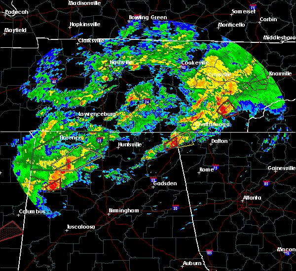 Radar Image for Severe Thunderstorms near Ider, AL at 11/30/2016 12:19 AM CST