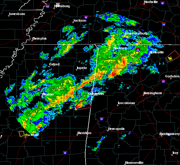 Radar Image for Severe Thunderstorms near Hatton, AL at 11/30/2016 12:31 AM CST