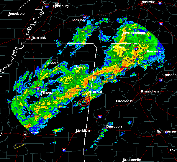Radar Image for Severe Thunderstorms near Pickensville, AL at 11/30/2016 12:56 AM CST