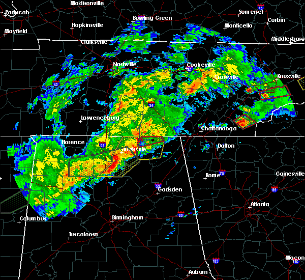 Radar Image for Severe Thunderstorms near Hytop, AL at 11/30/2016 1:48 AM CST