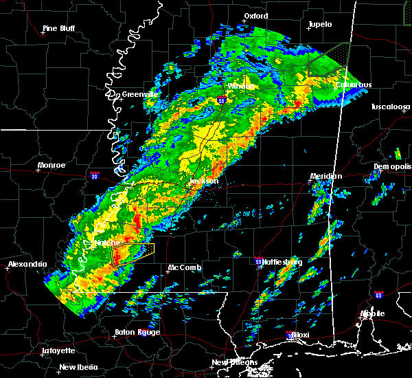 Radar Image for Severe Thunderstorms near Roxie, MS at 11/30/2016 2:06 AM CST