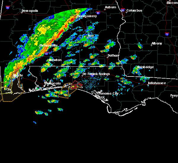 Radar Image for Severe Thunderstorms near Destin, FL at 11/30/2016 11:37 AM CST