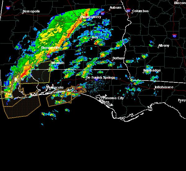 Radar Image for Severe Thunderstorms near Destin, FL at 11/30/2016 11:59 AM CST