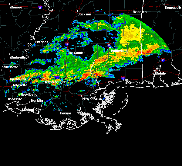Radar Image for Severe Thunderstorms near Picayune, MS at 12/13/2016 2:45 PM CST