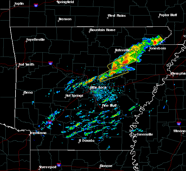Interactive Hail Maps - Hail Map for Searcy, AR